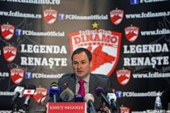 Ionut Negoita: Eu sustin inca Dinamo, substantial. Cand se scrie omul de afaceri in DDB