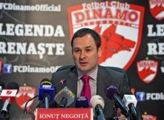 Ionut Negoita anunta ca va vinde Dinamo in scurt timp