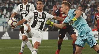 Ionut Radu, egalul lui Cristiano Ronaldo, in Juventus - Genoa (Video)