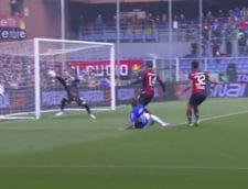 Ionut Radu a pierdut in tricoul lui Genoa marele derbi cu Sampdoria (Video)