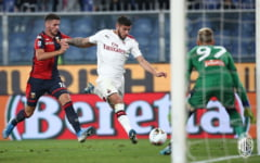 Ionut Radu face o gafa importanta intr-un meci nebun pierdut de Genoa cu Milan, cu patru eliminari si un penalti ratat in prelungiri (Video)