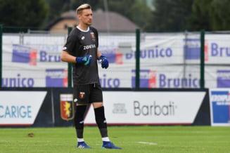 Ionut Radu primeste un prim mesaj dupa ce a incasat cinci goluri de la Inter Milano