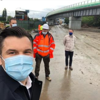 Ionut Stroe: Calea ferata Aeroportul Otopeni-Gara de Nord va fi gata pe 26 august