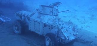 Iordania a inaugurat primul sau muzeu militar subacvatic (Foto&Video)
