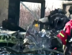 Iranul spune ca nu se atinge de cutiile negre ale avionului doborat accidental, ci le trimite in Ucraina