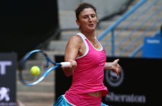 Irina Begu, despre infrangerea dramatica din meciul cu Angelique Kerber: Am comis cea mai mare greseala