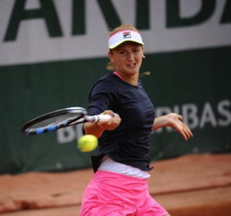 Irina Begu, eliminata de Kvitova in turul III la Roland Garros