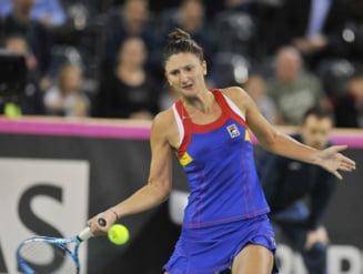 Irina Begu, eliminata de Maria Sharapova in turul doi la Madrid