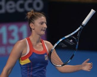 Irina Begu, invinsa de ocupanta locului 523 in clasamentul WTA!