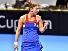 Irina Begu, victorie frumoasa la turneul de la Dubai, in proba de dublu