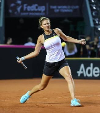 Irina Begu, victorie superba cu Bouchard la Madrid