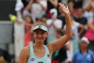 Irina Begu a fost invinsa in primul meci al anului