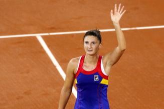 Irina Begu a fost invinsa in trei seturi de Pauline Parmentier si Franta - Romania se va decide in joc decisiv, la dublu