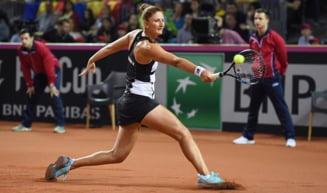 Irina Begu o spulbera pe Azarenka si avanseaza la Roma dupa un meci superb