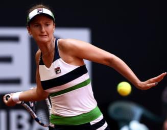 Irina Begu s-a calificat in optimi la Madrid
