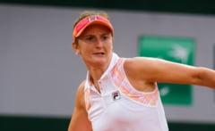 Irina Begu s-a calificat in sferturi la dublu, la turneul de la Linz