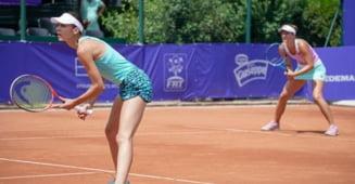 Irina Begu si Andreea Mitu, campioane la Bucuresti