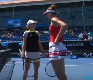 Irina Begu si Monica Niculescu, eliminate in semifinale la Australian Open