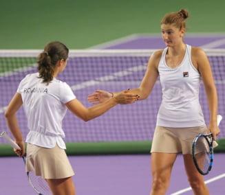 Irina Begu si Monica Niculescu, invinse in finala de la Wuhan