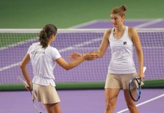 Irina Begu si Monica Niculescu s-au calificat in finala turneului de la Wuhan