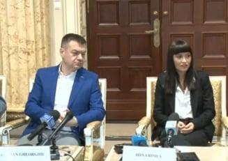 """Irina Rimes, promotor al lui Brancusi: Ministrul Culturii e multumit ca va """"dezvirgina"""" un milion de tineri care n-au auzit de celebrul sculptor"""
