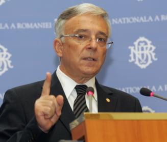 Isarescu: Misiunea tehnica a FMI a plecat cu o evaluare pozitiva