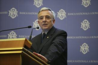 Isarescu: Se topesc zapezile, iar bancile vor avea mai multe lichiditati