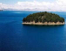 Isla del Sol lacul Titicaca