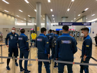 Islanda - Romania, baraj pentru Euro 2020. Imagini inedite: tricolorii au fost testati pentru COVID-19 in aeroportul din Keflavik