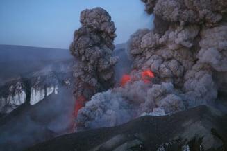Islanda si Europa s-ar putea confrunta cu un nor de cenusa mai mare decat cel din 2010