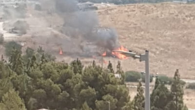 Israelul, lovit de două rachete lansate din Liban VIDEO