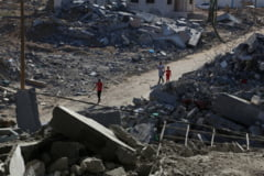 Israelul a lansat noi atacuri asupra obiectivelor militare din Gaza
