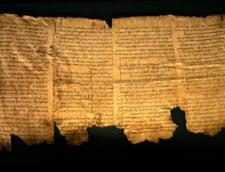 Israelul publica online mai multe fragmente din manuscrisele de la Marea Moarta