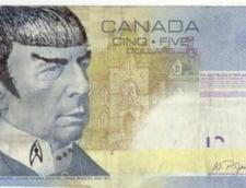 Isterie in Canada: Efectul nebanuit al mortii lui Spock asupra bancnotelor de cinci dolari