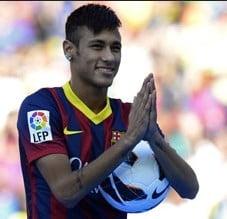 Isterie la Barcelona: A sosit Neymar, urmasul marelui Pele (Video)