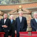 Istoria in vremea PSD: Miza parsiva a prezentei lui Adrian Severin si Adrian Nastase la ceremonia de la Ateneu
