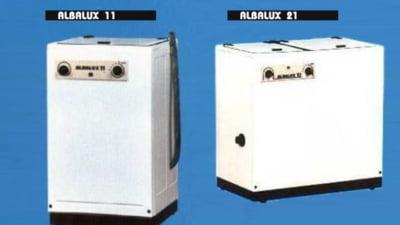 "Istoria unui ""brand"" comunist. Cum a aparut celebra masina de spalat Albalux, fabricata la Cugir dupa o licenta italiana"
