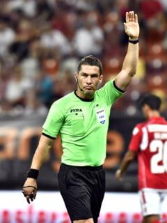 Istvan Kovacs a fost delegat de UEFA sa arbitreze marele Milan