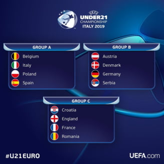 Istvan Kovacs arbitreaza meciul de deschidere de la Europenele de tineret. Iata programul primei zile din Italia