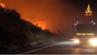 """Italia devastată de foc. Peste 800 de incendii au izbucnit doar în acest sfârșit de săptămână. """"Sunt provocate de infractori"""" VIDEO"""