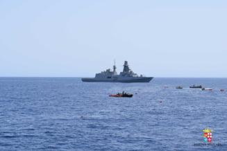 Italia nu mai vrea sa primeasca in porturile sale nave care salveaza refugiati din Marea Mediterana