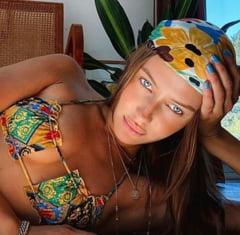 Iubita lui Brad Pitt pozeaza sexy, dupa intalnirea actorului cu fosta sotie Jennifer Aniston