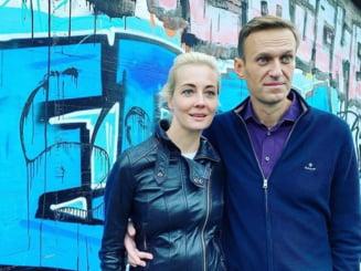 Iulia Navalniia, sotia principalului opozant al Kremlinului, retinuta la protestele din Moscova