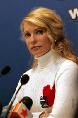 Iulia Timosenko a fost arestata la domiciliu