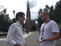 Iulian Bulai, la televiziunea nationala din Norvegia: despre romani, rromi si cersetori