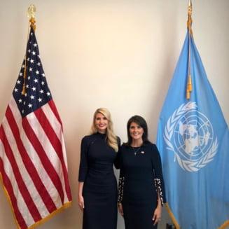 """Ivanka Trump, ambasadoare SUA la ONU? O propunere """"dinamita"""", sustine tatal-presedinte"""