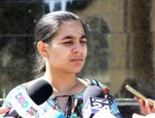 Izaura Anghel, fiica lui Bercea Mondial, a fost retinuta - e acuzata de dare de mita