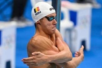 JO 2020: David Popovici va concura joi în finala la 100 de metri liber. Ora de start a cursei. Cât de valoros a fost timpul românului din semifinale
