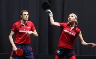 JO 2020, tenis de masă: Bernadette Szocs şi Ovidiu Ionescu au fost la un pas de semifinale la dublu mixt