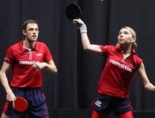 JO 2020, tenis de masa: Bernadette Szocs si Ovidiu Ionescu au fost la un pas de semifinale la dublu mixt